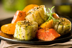 seafood_grilled_scallops_persimmons_mango_dill_infused_avocado_oil_pohuski_12